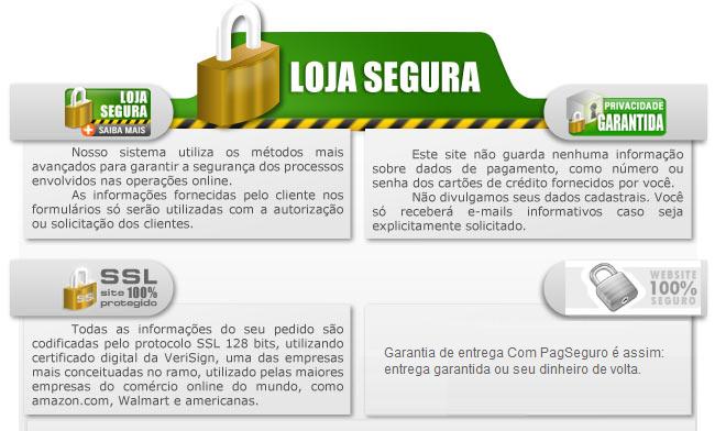 Pagamento 100% seguro - Amorim Cafés